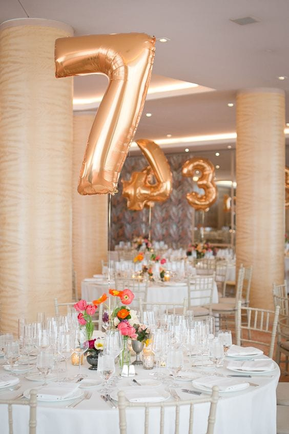 Balloon-table-numbers